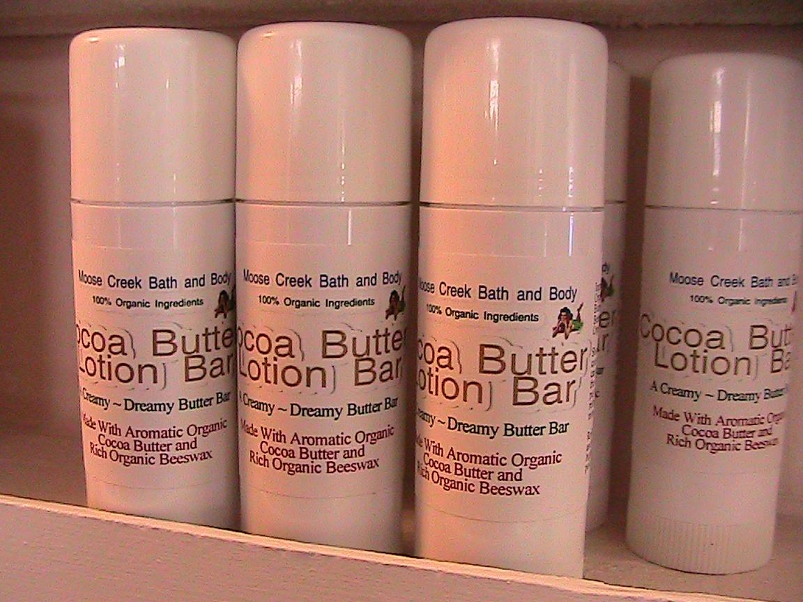 cocoa butter lotion bar 100